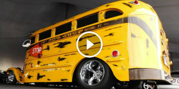 1927 Whippet Hot Rod School Bus 2016 Auctions America 11