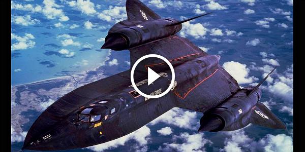 The World Fastest Aircraft Sr 71 Blackbird Aircraft