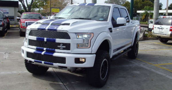 off roading in a 700hp supercharged shelby f 150 pickup truck muscle cars zone. Black Bedroom Furniture Sets. Home Design Ideas