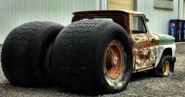Adam Anderson's CHEVY STEAM ROLLER TRUCK! - Muscle Cars Zone!