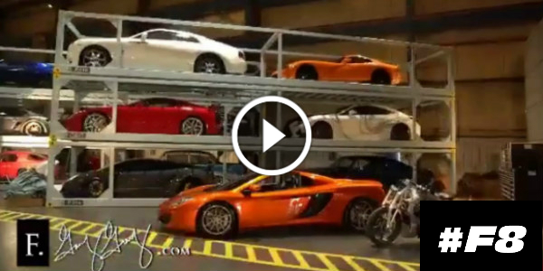$25 MILLION In CARS! The New FAST 8 Behind The Scenes! These TEASER ...