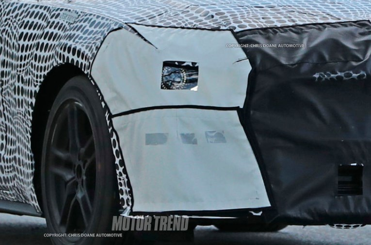 New 2018 Ford Mustang spy photos detroit 2
