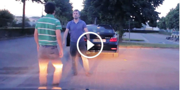Road Rage Footage angry driver hilarious 31