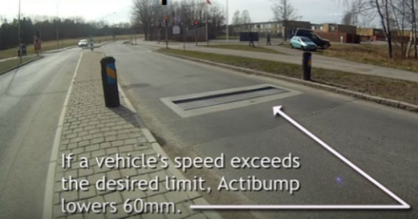Robotic Actibump Speed Limit 2