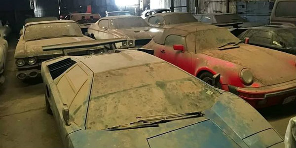 barn find Lambo Countachs Shelby GT500 911 Speedster Porsche 21