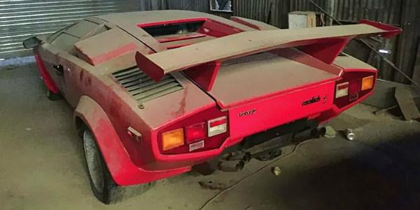 barn find Lambo Countachs Shelby GT500 911 Speedster Porsche 31