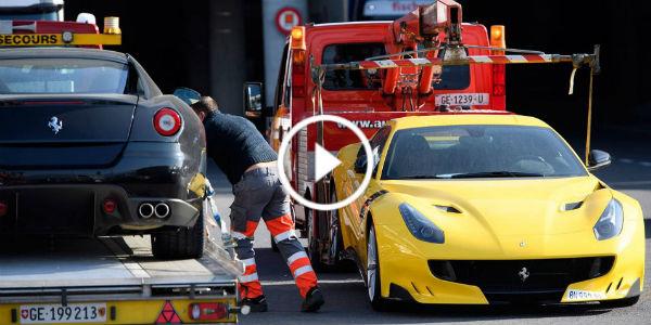 11 Supercars 8 Million Dollars dictator Geneva Switzerland 11
