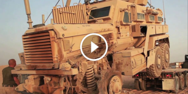 2 Million M88A2 Hercules Recovery Vehicle Machine Recovering Broken MRAP-Vehicle 11