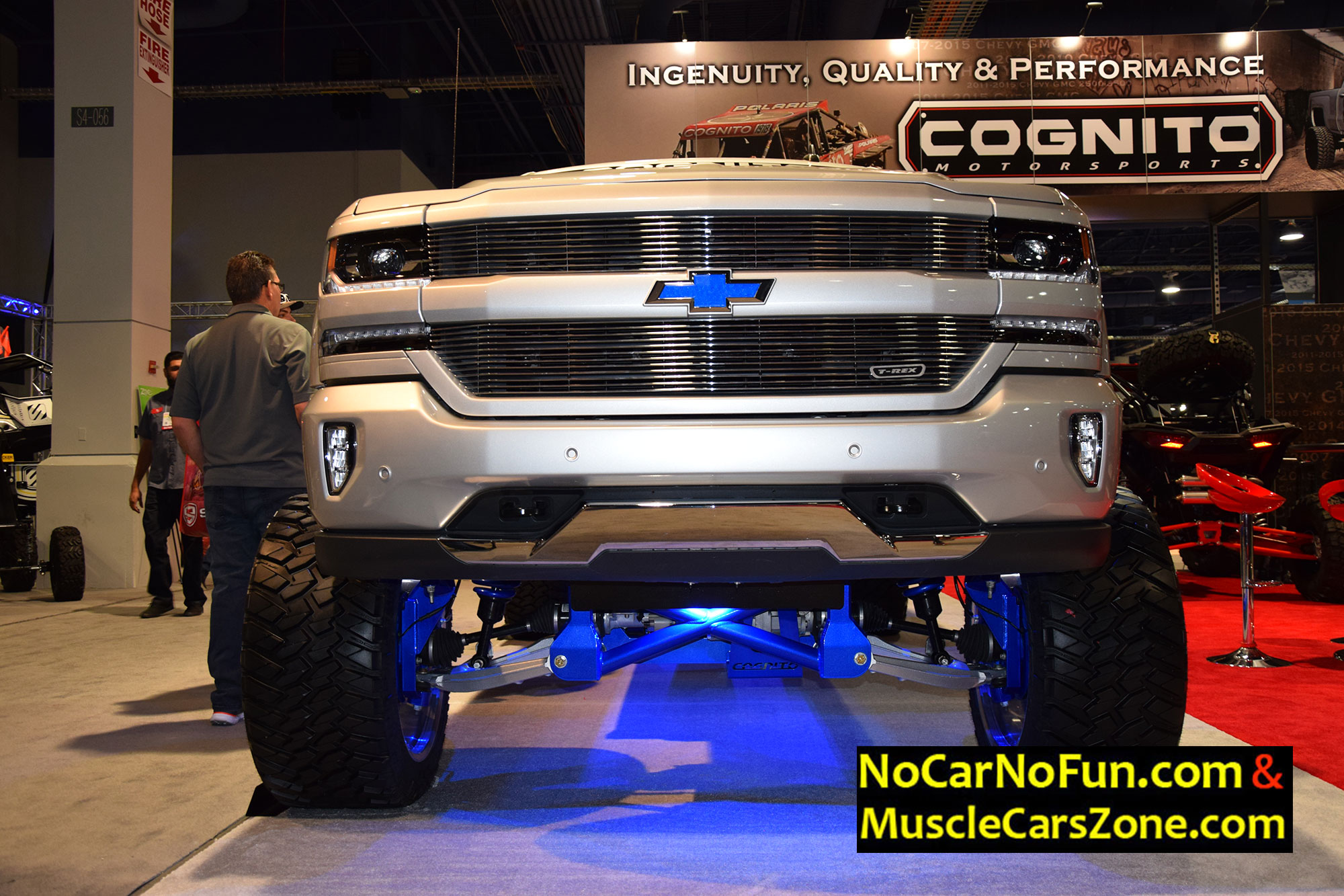 Chevy Lifted Trucks >> Musclecarszone.com Presents You The Very Best Rides Of The SEMA Show 2016 Vegas! Your Favorite ...