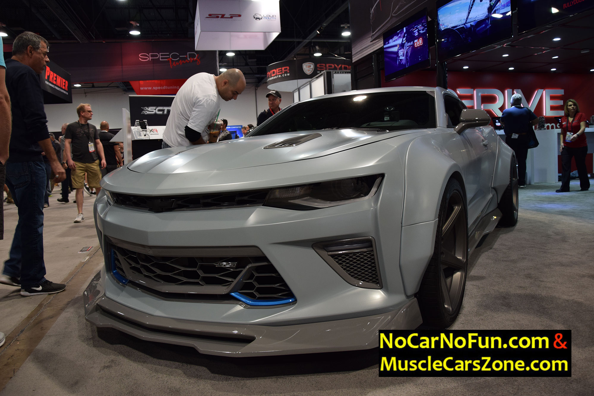 6Th Gen Camaro >> Musclecarszone.com Presents You The Very Best Rides Of The SEMA Show 2016 Vegas! Your Favorite ...