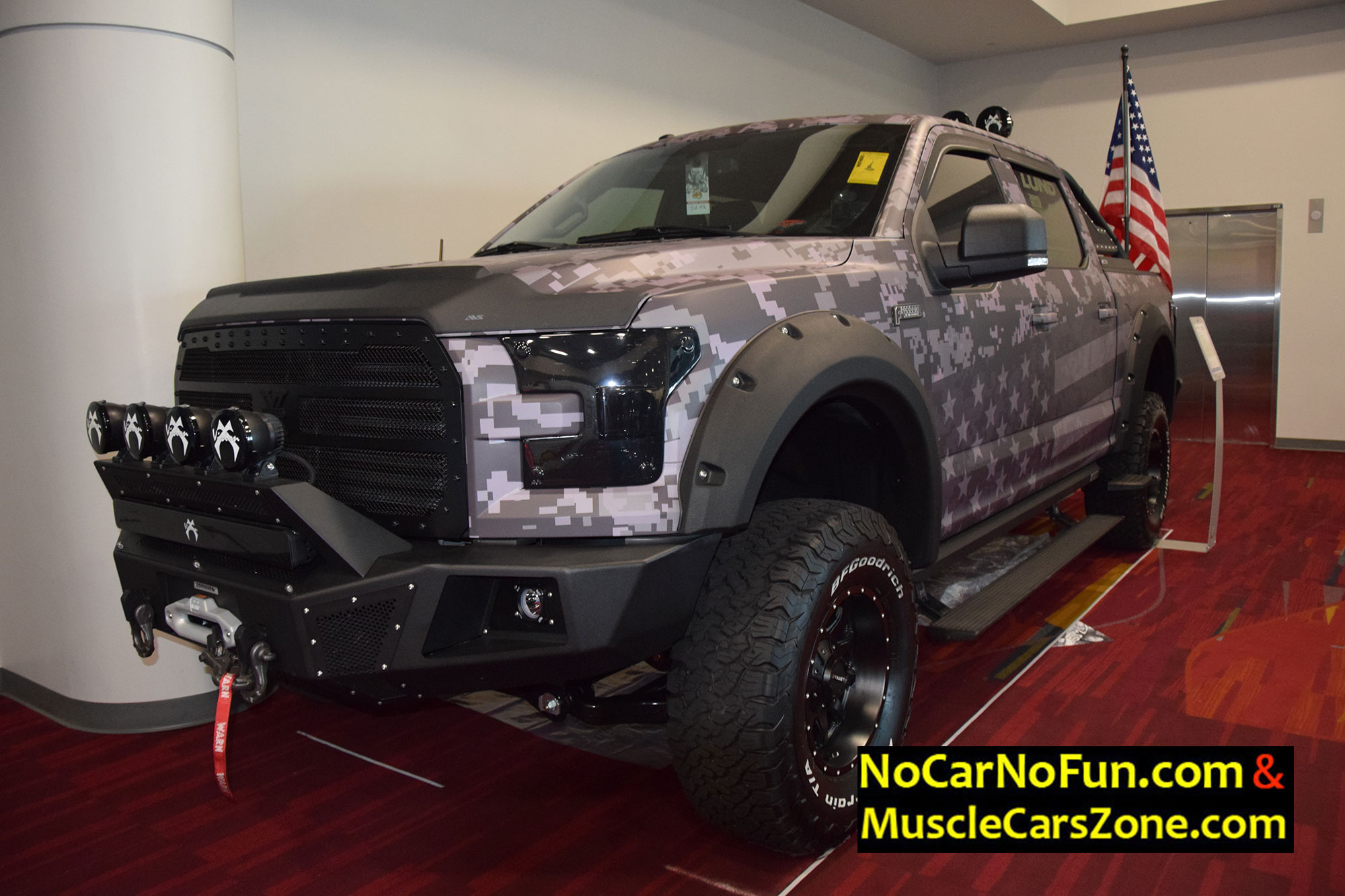 Willys Jeep Truck >> MUSCLECARSZONE OFFICIAL JUDGE @ 2016 SEMA SHOW LAS VEGAS ...