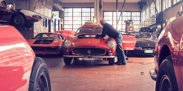 Maranello s Master Craftsmen Vehicle Workshops italy 1