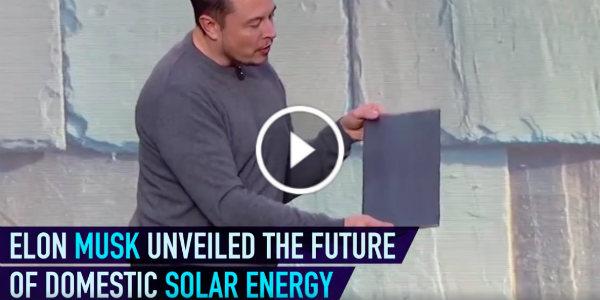 New Tesla Technology Solar Roof Tile Powerwall 2 Home Elon Musk 11