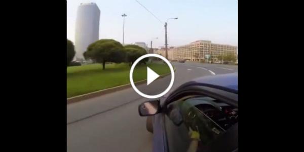 Public Street Drifting Subaru 1JZ Swapped Impreza 21