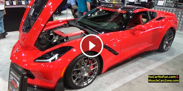 Supercharged Chevy Corvette C7 Stingray
