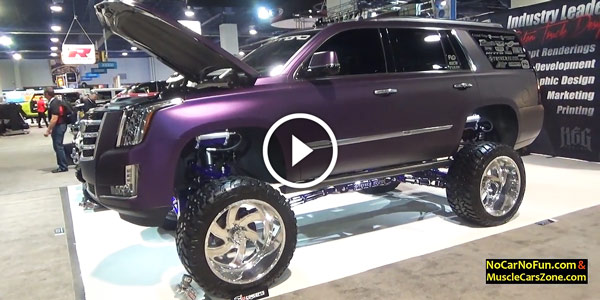 CADILLAC ESCALADE CUSTOM LIFTED TRUCK