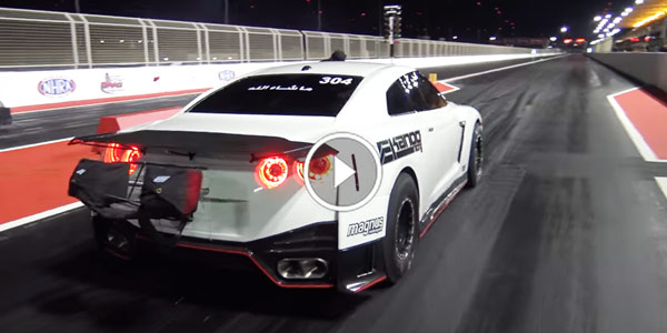 GTR R35 NEW WORLD RECORD