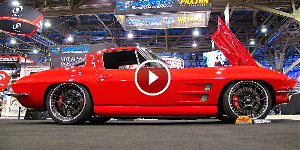 CLASSIC SUPERCHARGED CHEVY CORVETTE