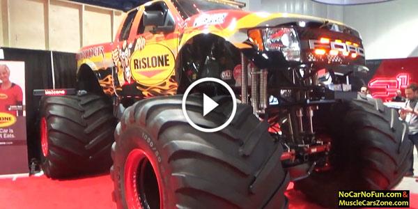 Ford Raptor Defender Monster Truck