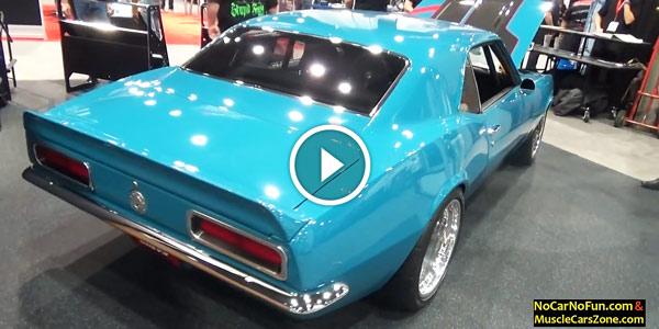 classic 1969 Chevy Camaro