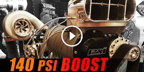 3500HP 140PSI Boost Full Billet Duramax SEMA 2016 Wagler Competition Products 11