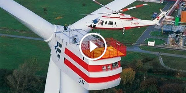 ENERCON E 126 Powerful largest Wind Turbine World 31