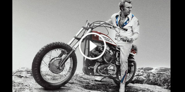 EVEL KNIEVEL Tribute Video 2 Motorcycle Jump Harley Davidson 1