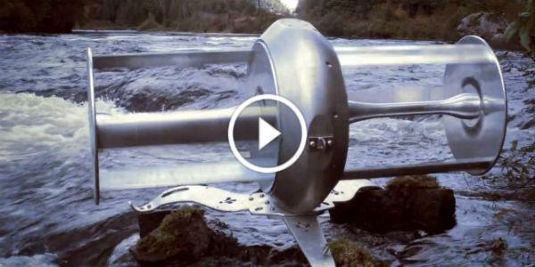 Idenergie Portable River Turbine Free Electricity 11