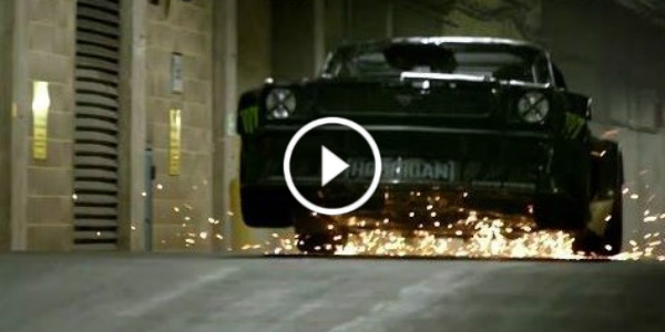 Ken Block London Matt Le Blanc Drifting Ride 11