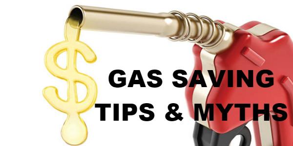 Saving Gas Tips Gas Saving Myths 1