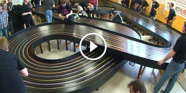 Slot Car Racing European Championship Fastest Lap 2 seconds 11