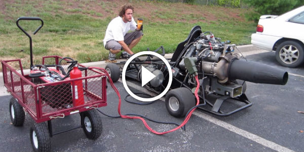 GO KART With A BOEING JET ENGINE! CHECK OUT This POWERFUL GO KART ASAP - IT IS FOR SALE!!!!