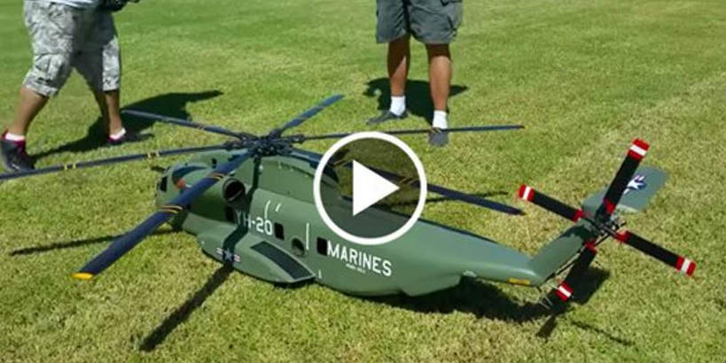 Massive RC Helicopter 1 TN