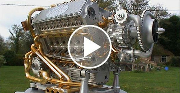 Best Used Trucks >> The Legendary BRITISH Napier Deltic Diesel ENGINE! See How ...