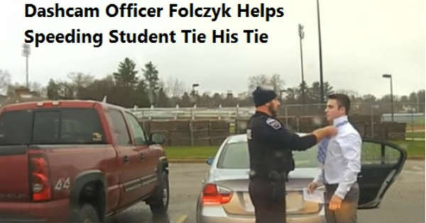 Awesome Police Officer Speeding Student How To Tie 7