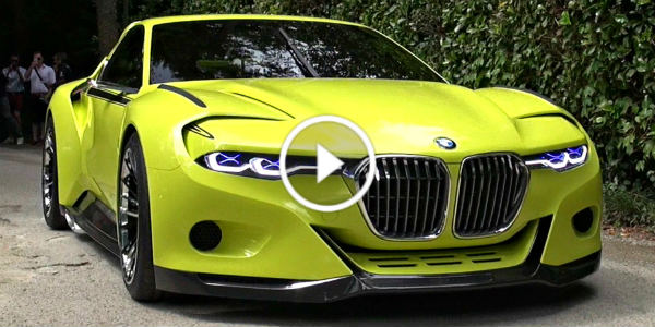 BMW 3.0 CSL Hommage Concept World Debut 41