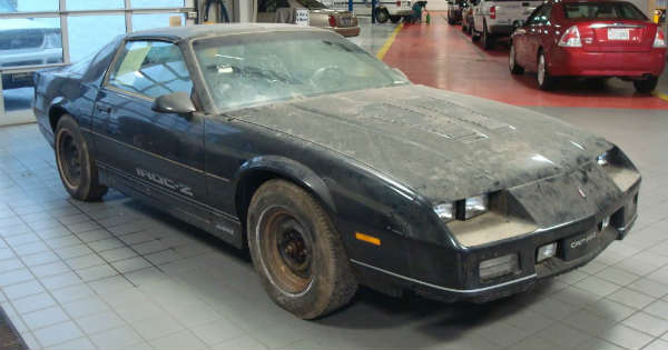 Brand New 1985 Z28 Camaro Found In A Storage Container 4