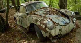 Million Dollar Worth Car Graveyard German Racing Driver Michael Frochlich 7