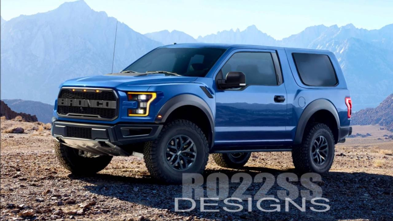New Ford Bronco Concept 1 - Muscle Cars Zone!