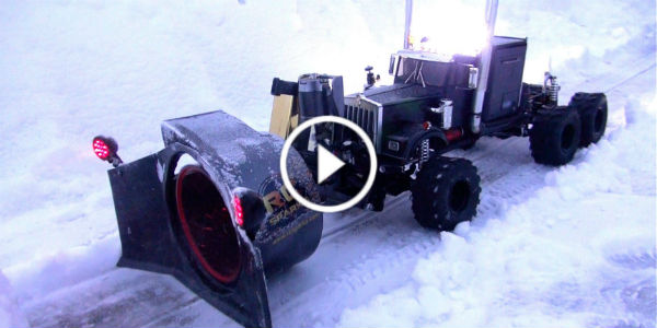 RC Rotary Snow Plow 1 TN