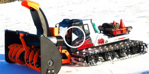 Remote Control SNOWBLOWER 3D Printer 41