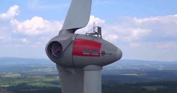 The Most Powerful Wind Turbine in The World Enercon E126 4