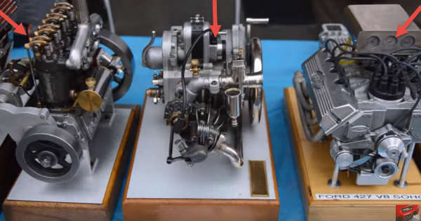 miniature tractor engines sound 2