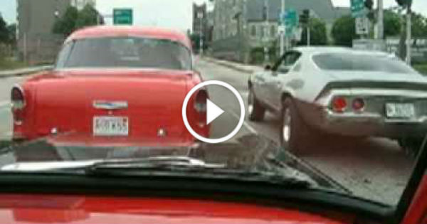 1955 Chevy Camaro VS 1970 Big Block Camaro 1 TN