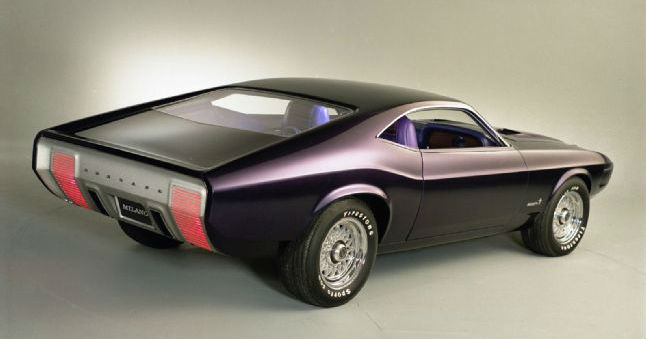 1970 Ford Mustang Milano Concept 17 Ford Mustang Concepts 2