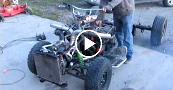 Crazy Turbo V8 Quad