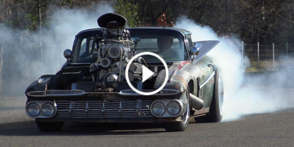 800HP Blown Hulk Vintage El Camino 1959 1 TN