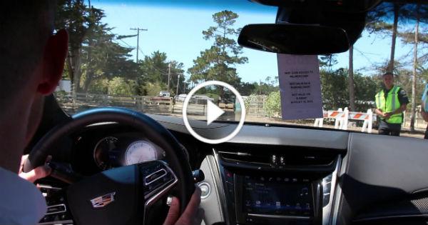 Cadillac Salesman Crash New Cadillac CTSV 2015 1 TN