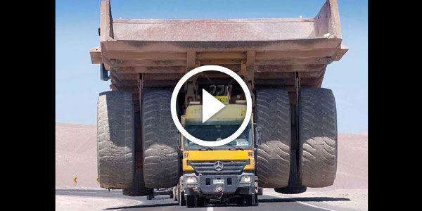 20M VIEWS! Massive Caterpillar 797 Haul Truck Dwarfed By Its MONSTROUS CARGO! GARGANTUAN Mining ...