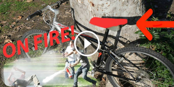 Funny Bike Prank Thieves 1 TN